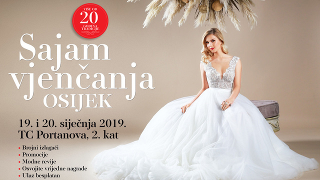 10. Sajam vjenčanja u Osijeku 2019